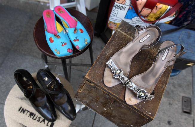 Diferentes estilos de calzado