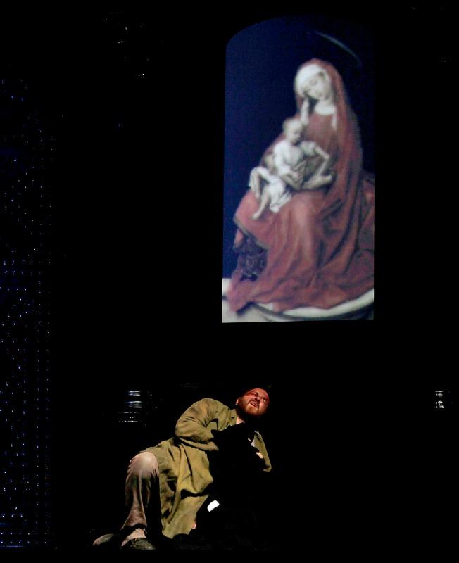 La ópera Tosca en Sevilla. J.M. Serrano