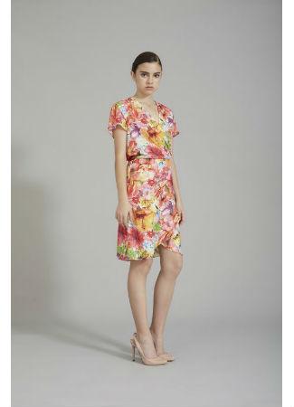 Vestido floral de Coosy