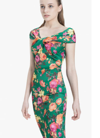 Vestido de flores de Extart and Panno que lució Paula Echevarría