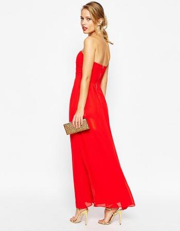Vestido rojo de Asos