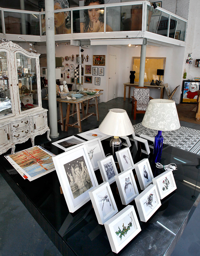 Estética y diseño interior en armonía dentro del espacio Wabi Sabi Shop&Gallery