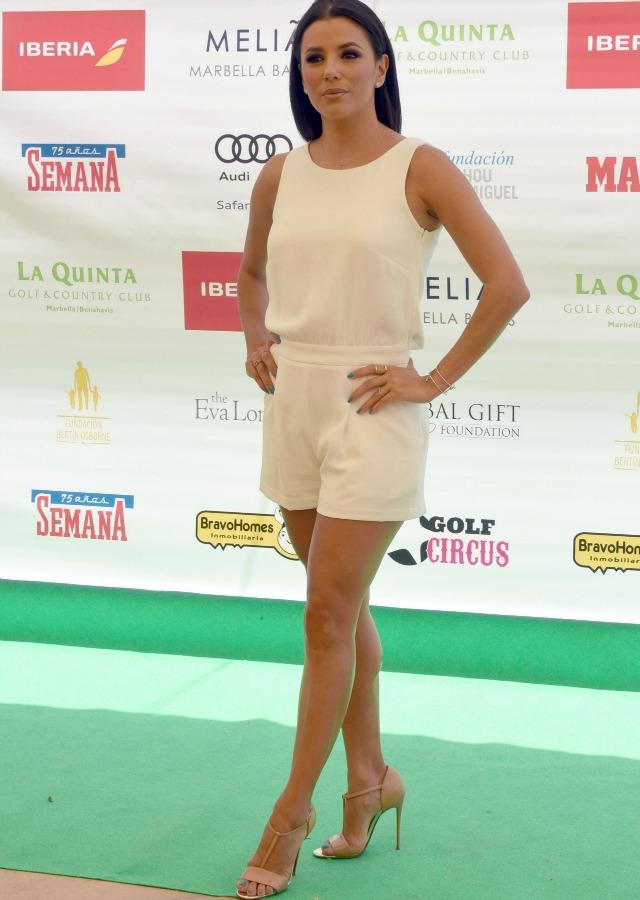 Eva Longoria en el III Torneo de Golf en La Quinta Golf & Country Club. G3online
