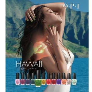 Esmalte de uñas verde de OPI