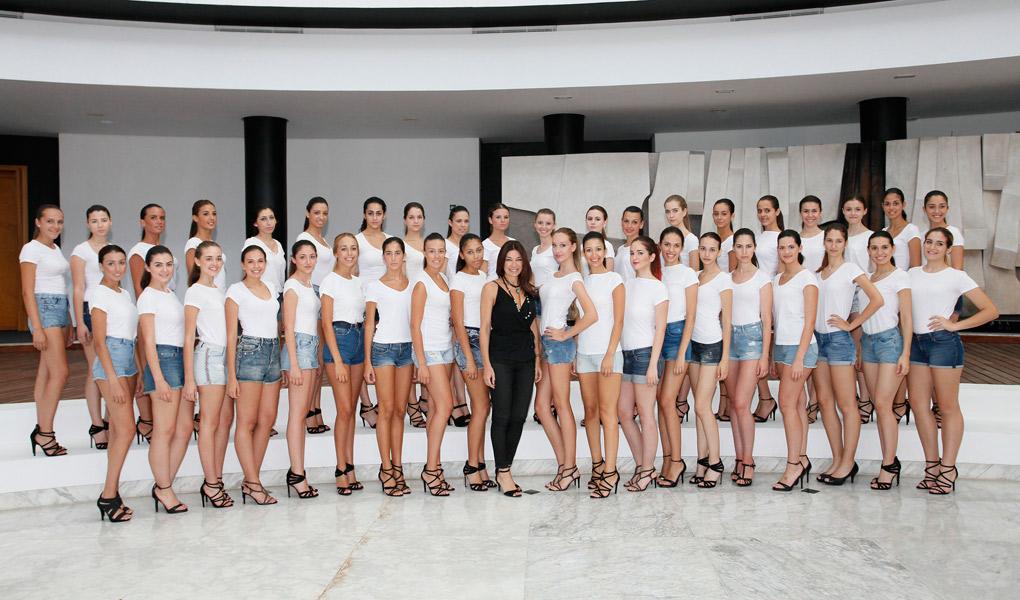 Candidatas Miss World Sevilla 2015. Chema Soler