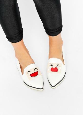 Zapatos planos divertidos de Asos
