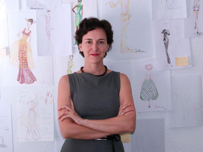 Balbina Arias en su atelier. M.José Molina