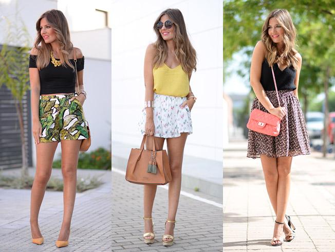 Mis faldas y shorts favoritos de este verano