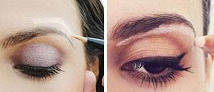 Trucos de maquillaje: levantar la ceja