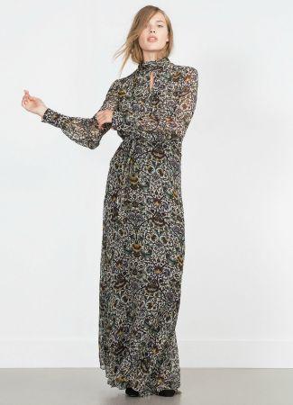 Vestido de otoño de Zara