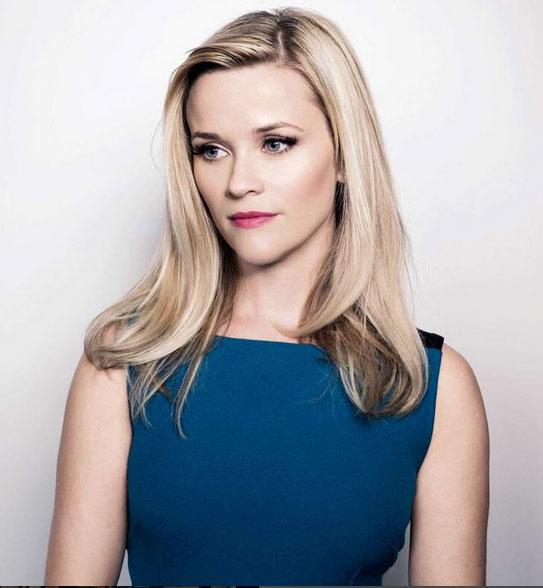 Reese Witherspoon, hair contouring cara con forma de corazón