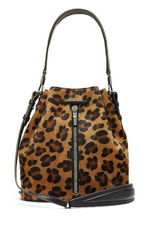 Bolso de Elisabeth and James de leopardo
