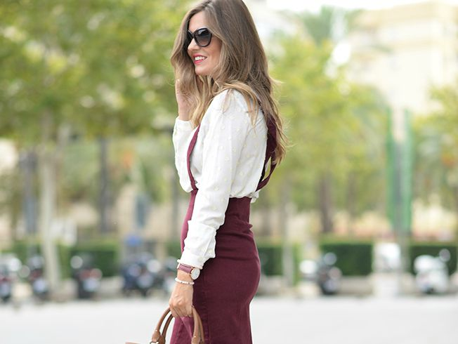 Un look perfecto de «working girl»