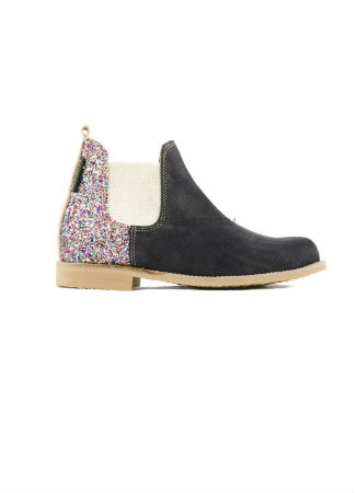 Neon Boots Glitter