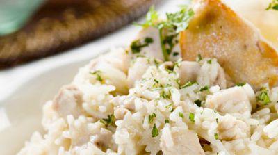 risotto-pollo