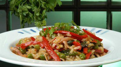 risotto-verduras