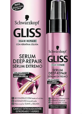 Serum reparador capital de Gliss
