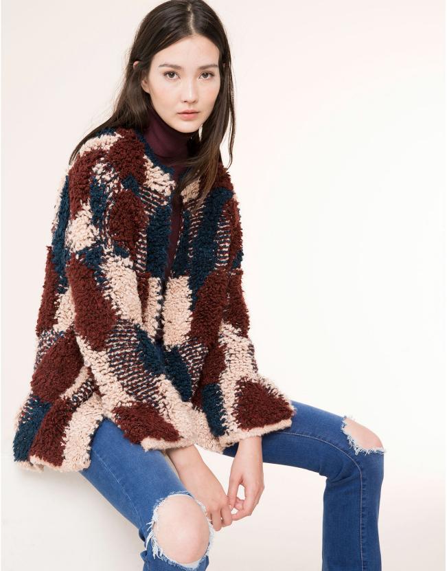 Compras inteligentes: chaqueta de patchwork