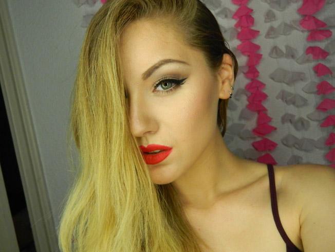 «GotyMakeUp3», la bloguera sevillana que imita el maquillaje de las famosas
