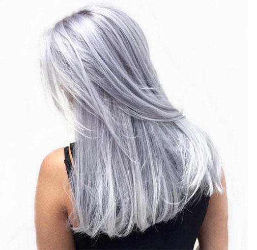Tendencias en coloración de cabello para el invierno 2015-2016: granny hair