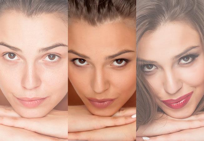 Maquillaje efecto cara lavada o nude