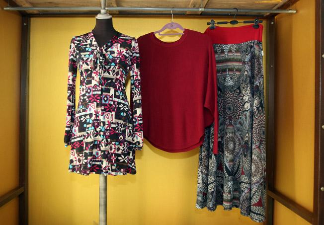 Vestido, blusa y falda, prendas inspiradas en los grandes genios del grafismo que marcaron una época que se continúa evocando en el mundo de la moda