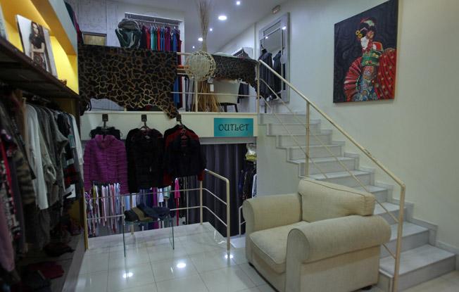 Imagen interior de MuMa Mujeres Malditas, en la calle Luis Montoto