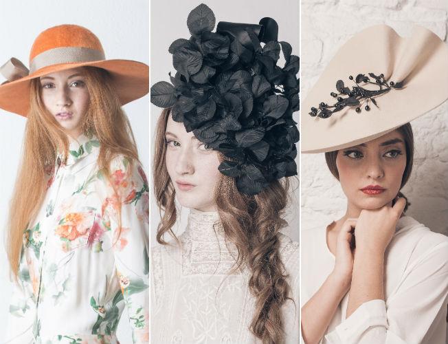 Lo último en sombreros y tocados para invitadas de otoño-invierno ... 0e4158eeed4
