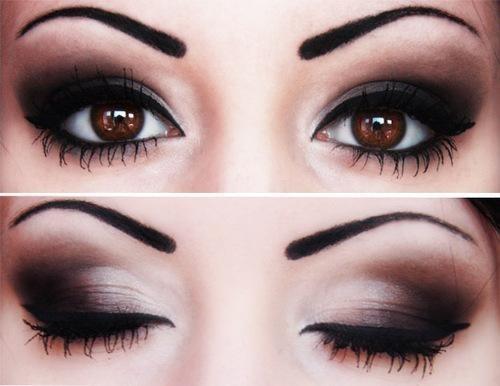 Diez formas de pintarse los ojos: smokey eyes