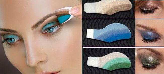 Maquillaje para vagas: sombras adhesivas