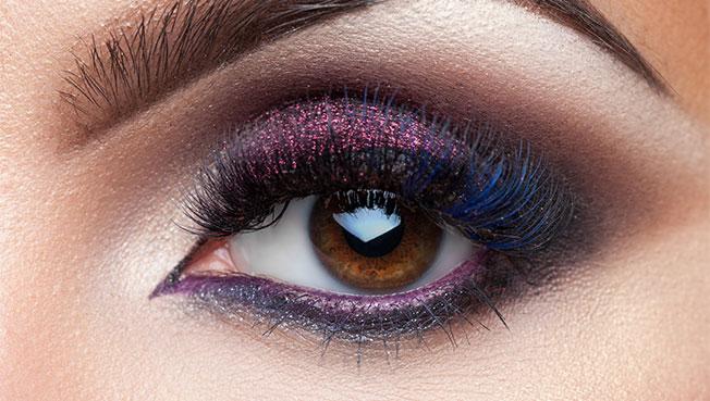 Diez formas de pintarse los ojos: sombras con shimmer