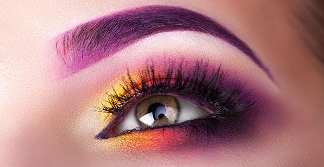 Diez formas de pintarse los ojos: sombras de tres colores
