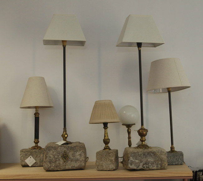 Lámparas artesanas de Salvador Sainz de Rozas