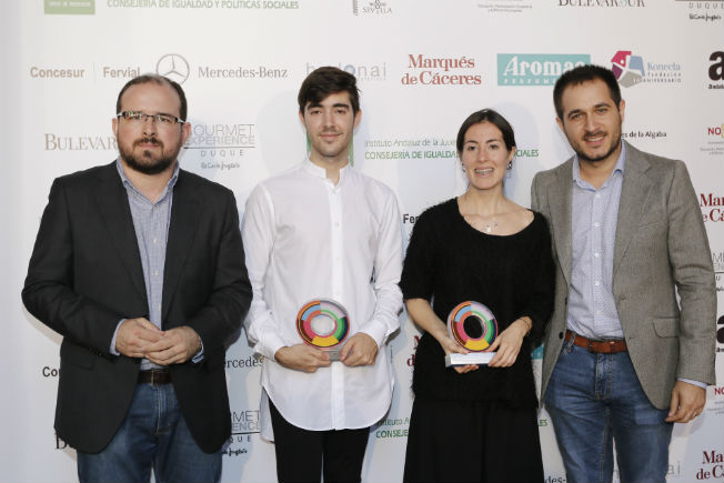 Ganadores concurso de jóvenes diseñadores de moda de Andalucía. Chema Soler
