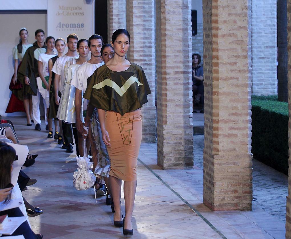 Desfile de Isabel Díaz Rosado en Andalucía de Moda. Raúl Doblado
