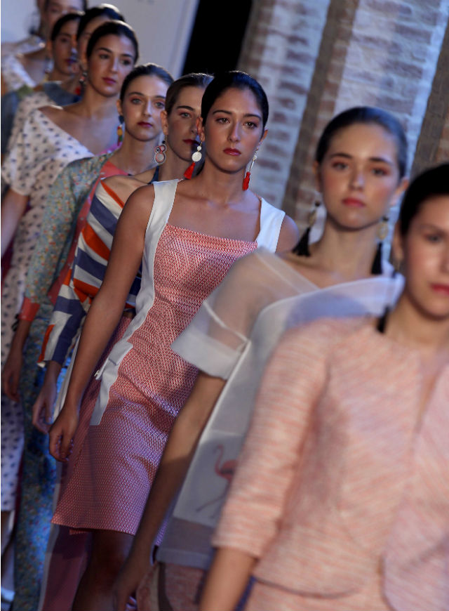 Desfile de Mila Fuentes en Andalucía de Moda. Raúl Doblado