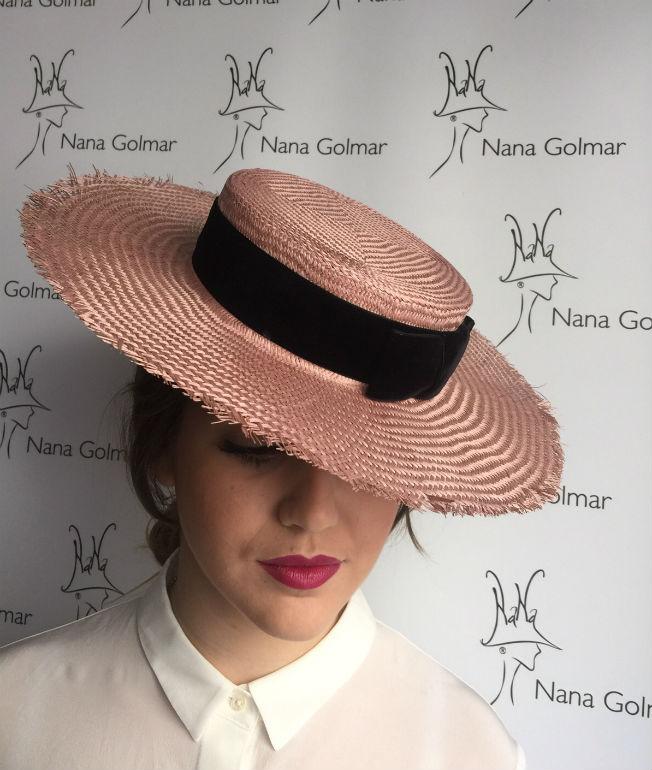 Nana Golmar diseña un sombrero exclusivo para Bulevar Sur - Bulevar Sur 26d96e15da0
