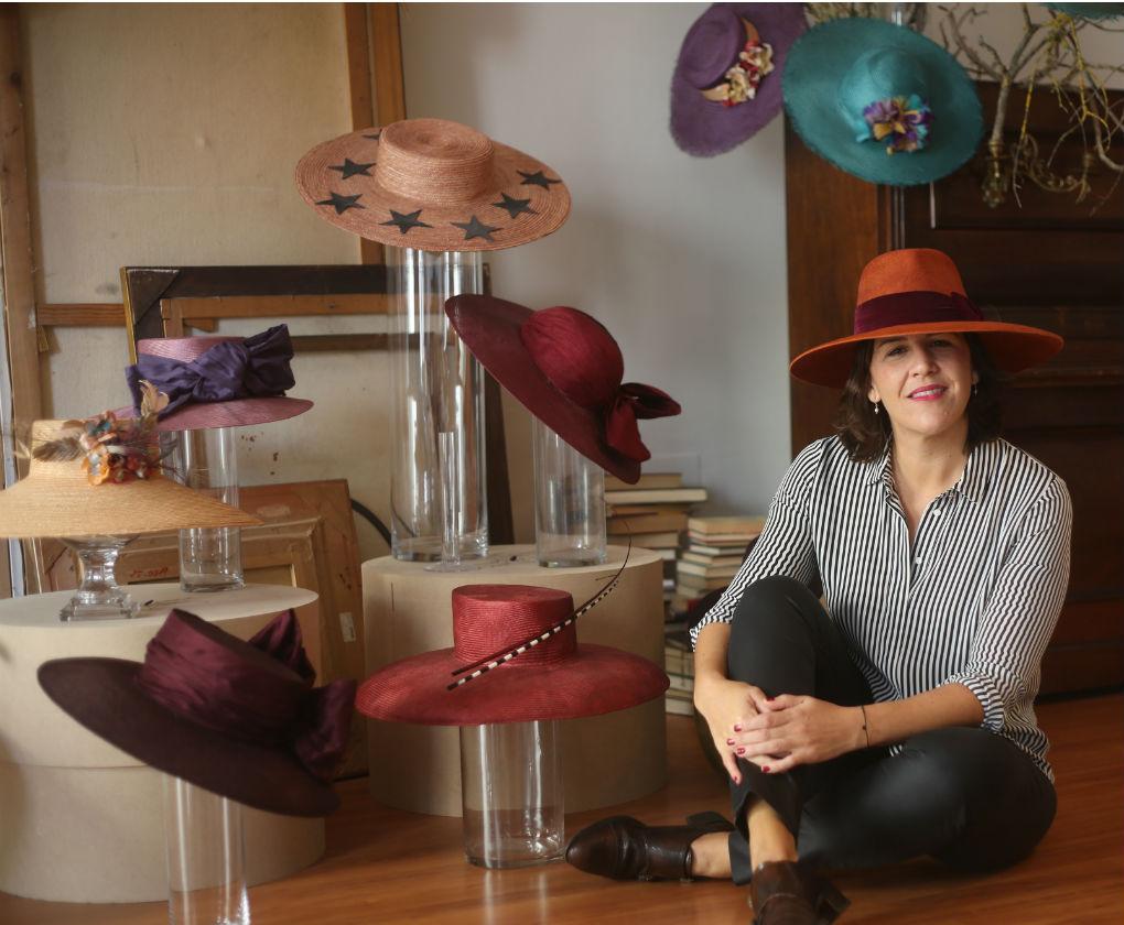 Nana Gomar en su taller de la calle O'Donnell en Sevilla. Vanessa Gómez