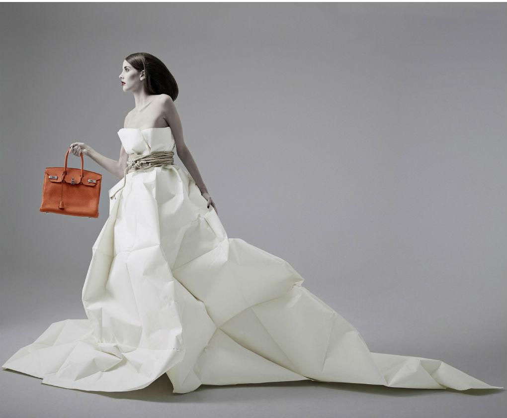 Fotografía de «Ephemeral & Durable» de Alberto G. Puras. Premio LUX de bronce de fotografía de moda