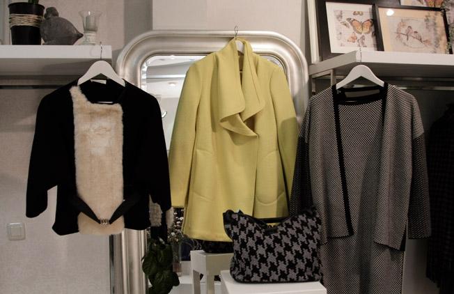 Prendas de punto, lana y paño de diferentes firmas italianas