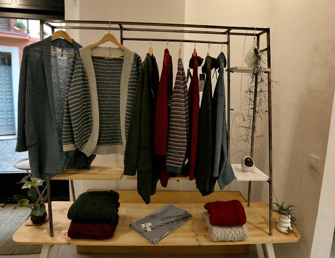 Jerseys y rebecas 100% lana virgen tejidos a mano de la marca Bíbico
