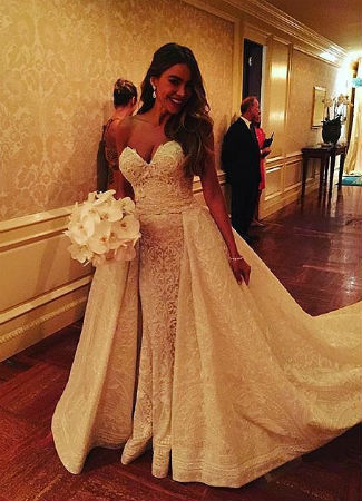 Vestidos de fiesta en bodas de famosos