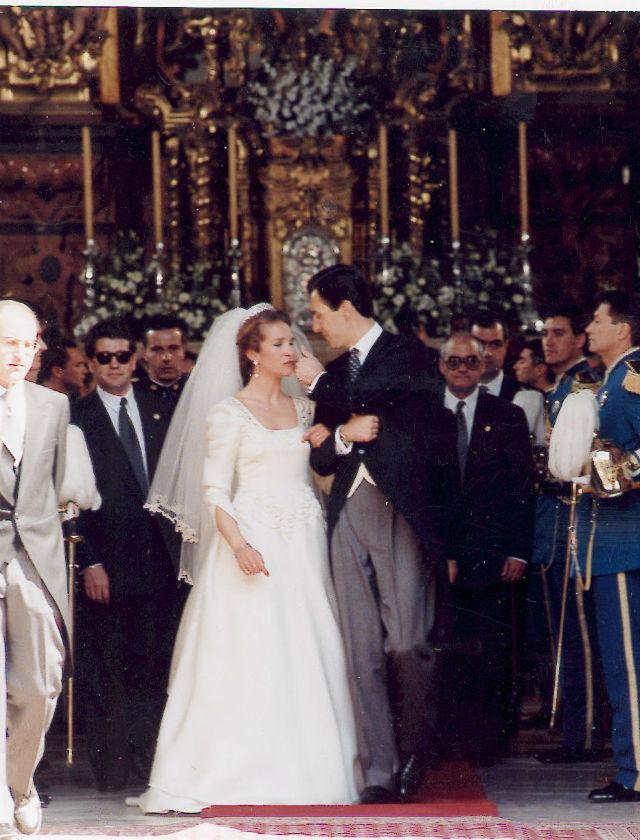 Boda de la Infanta Elena. Archivo ABC