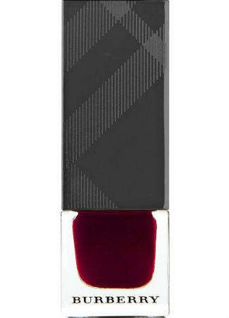 Color marsala de Burberry para Navidad 2015