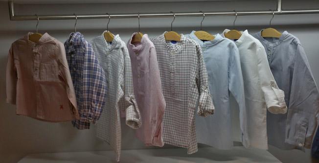 Exquisita selección de estilos en camisas para niños