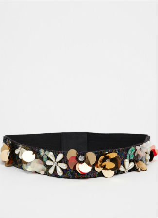 Cinturón de flores de Asos