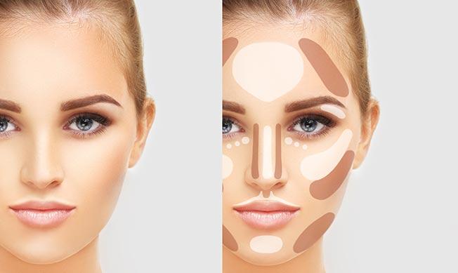 contorno maquillaje