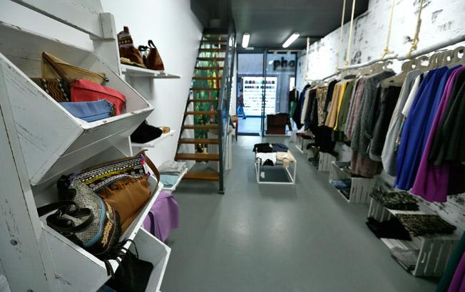 Imagen interior de Coolness, en la céntrica calle Lineros