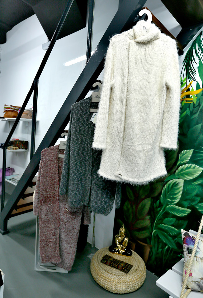 Maxi rebecas de lana y algodón en diferentes estilos y colores