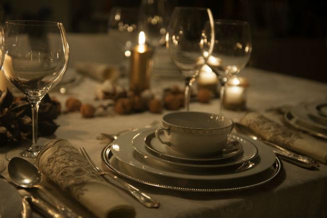 decoracin de mesa de navidad